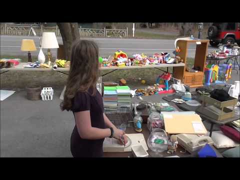 Having A Huge Garage Sale vlog 5-1-15