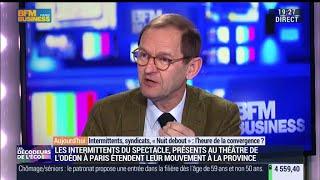 BFM Business-27.04.16-Les Décodeurs de L'Eco-Intermittents syndicats, Nuit debout