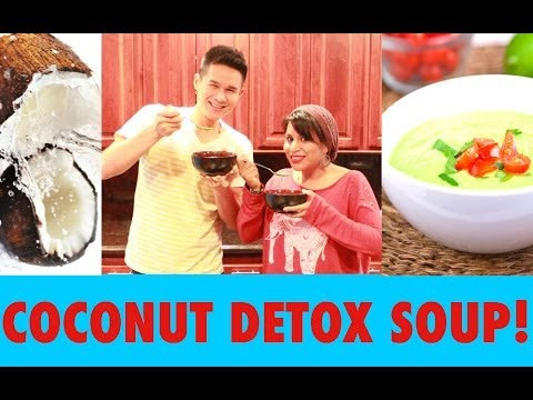 COCONUT DETOX SOUP!