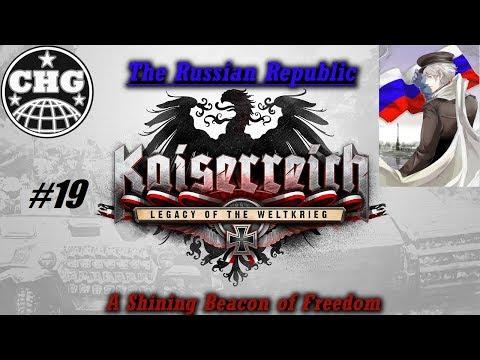 HOI4: Kaiserreich - Russian Republic #19 - American Instability