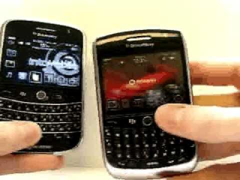 BlackBerry 8900 Versus BlackBerry Bold Video Comparison