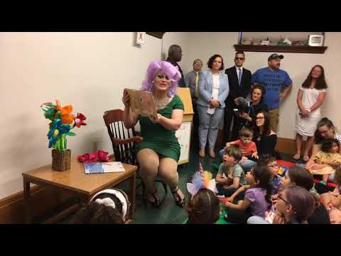 First Drag Queen Story Hour At Library