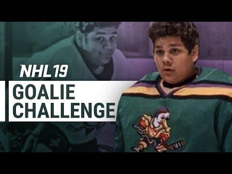 NHL 19 GOLDBERG GOALIE CHALLENGE