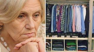 Женщина наводила порядок в вещах своего покойного супруга и обнаружила в шкафу письмо