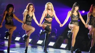 Britney Spears - Breathe On Me, Slumber Party & Touch Of My Hand (Live In Asia)