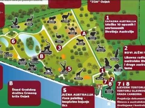 Australija u ZOO vrtu Osijek