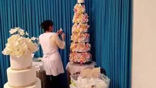 Свадебный каравай и торт от