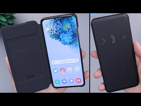 Samsung Galaxy S20 LED View Case Overview & Impressions!
