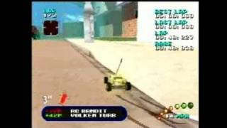 Re-Volt Nintendo 64 Gameplay