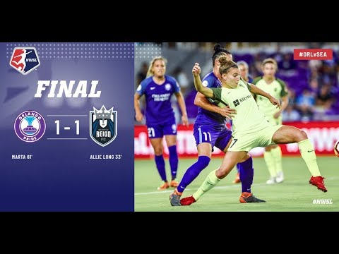 Highlights: Orlando Pride vs. Seattle Reign FC | April 28, 2018