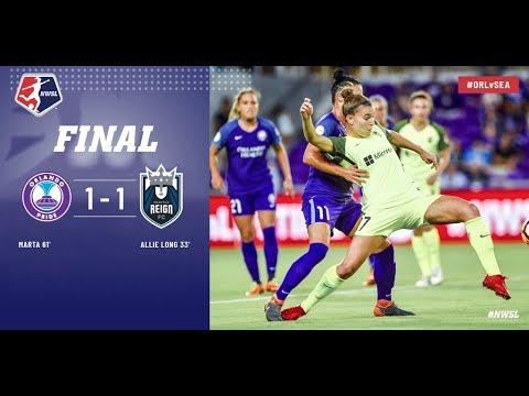 Highlights: Orlando Pride vs. Seattle Reign FC   April 28, 2018