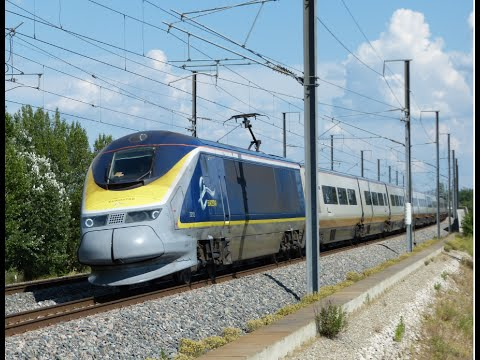 Thumbnail: High speed train (TGV, Eurostar, Ouigo) in France