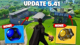 UPDATE 5.41-TWO NEW ITEMS, NEW SKINS, NEW SUPPLY DUMP | Fortnite Battle Royale