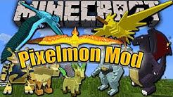 Minecraft Mod Review #3 Pixelmon Mod 1.7.10 [Deutsch|HD]