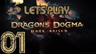 Dragon's Dogma Dark Arisen - Playthrough - Part 01 - Beginning Of The End