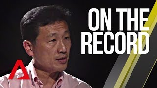 On The Record: Ong Ye Kung