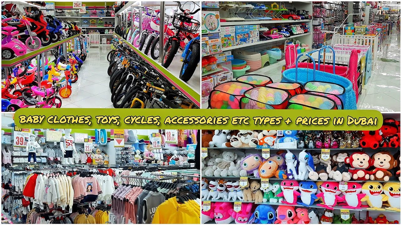 Baby Clothes,Toys,Cycles,Accessories Etc Prices and Types in Dubai | إكسسوارات الأطفال في دبي