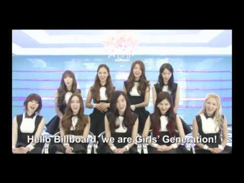 [ENGSUB] Girls' Generation Billboard interview