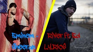 Eminem - River ft. Ed Sheeran (Lyrics)