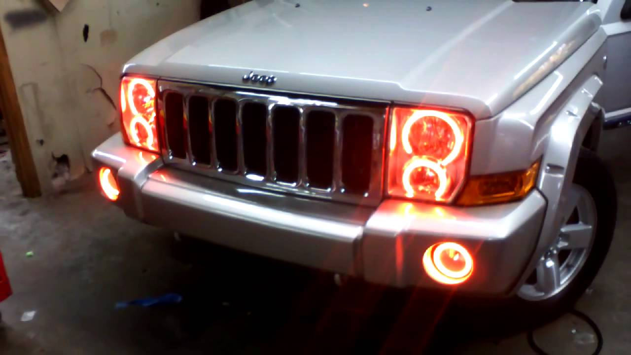 Service manual Change Headlight On A 2007 Jeep Commander