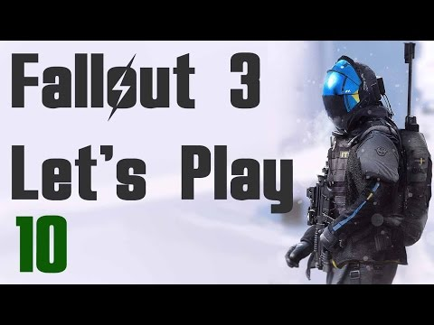 Fallout 3 Let's Play - Part 10 Rescue from Paradise Falls (Commentary, Walkthrough Guide)