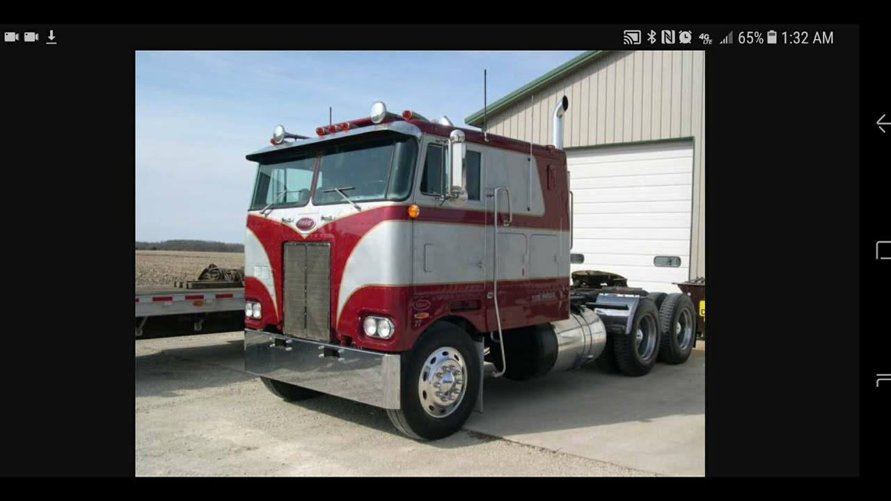 My first truck, the money pit 352 PETERBILT CABOVER