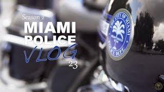 Miami Police VLOG: Motor Unit Escorts President Trump