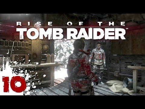 Lara Goes Shopping - Rise of the Tomb Raider - 10