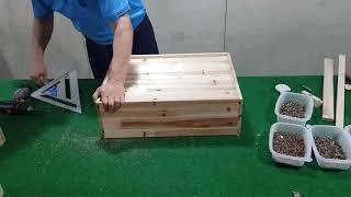 제4화 전동드릴로 원목3단서랍장 만들기 가구만들기