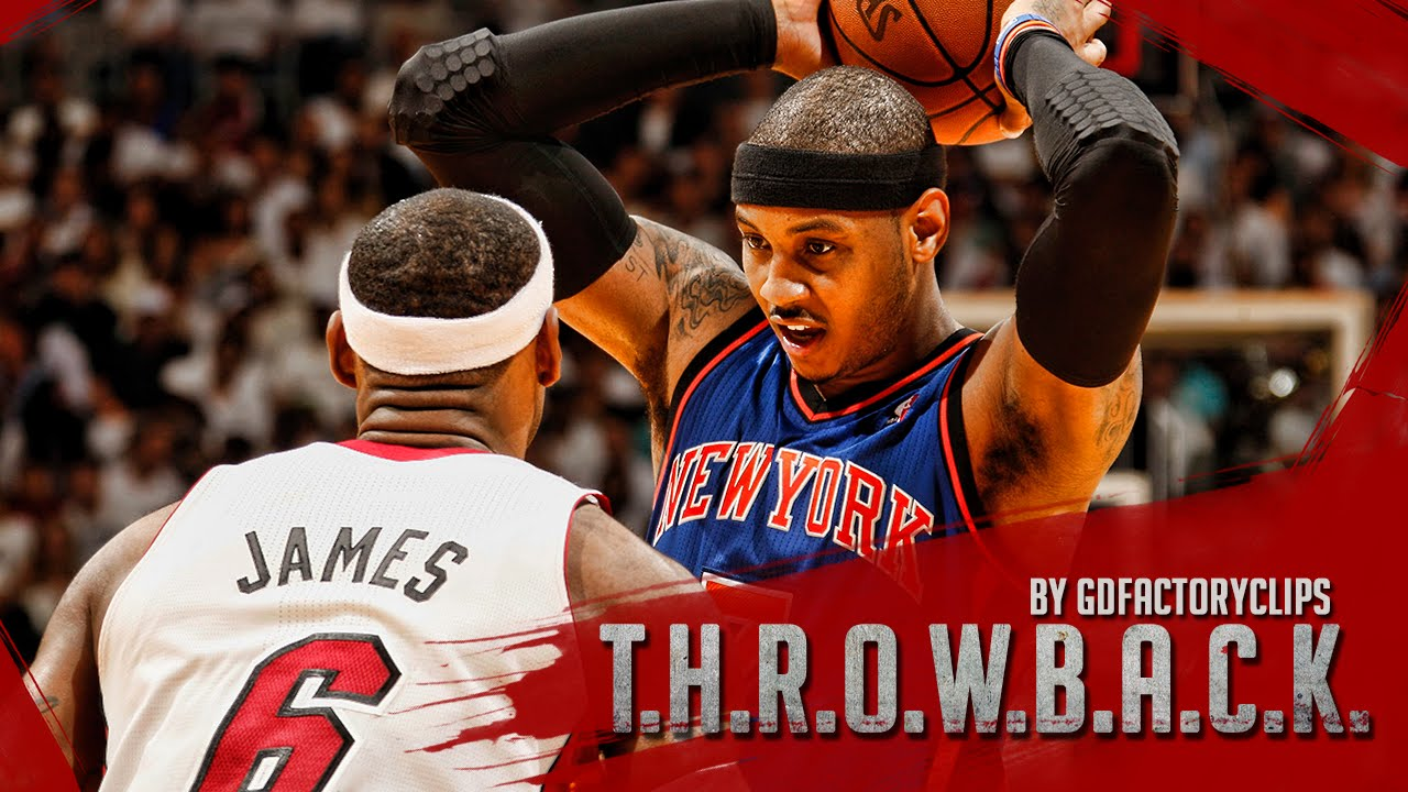 pretty nice 569c5 e36f6 Throwback: Carmelo Anthony vs Lebron James Full Duel Highlights 2011.02.27  Knicks at Heat - SICK!