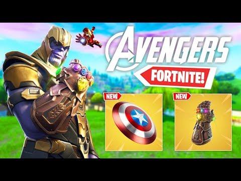 *NEW* FORTNITE AVENGERS EVENT GAMEPLAY! - Avengers Endgame X Fortnite Battle Royale