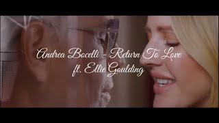 Andrea Bocelli - Return to Love feat. Ellie Goulding │Letra en español