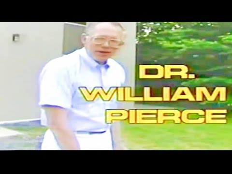 Dr.William Pierce Documentry - One Of The Most Controversial Men To Have Ever Lived