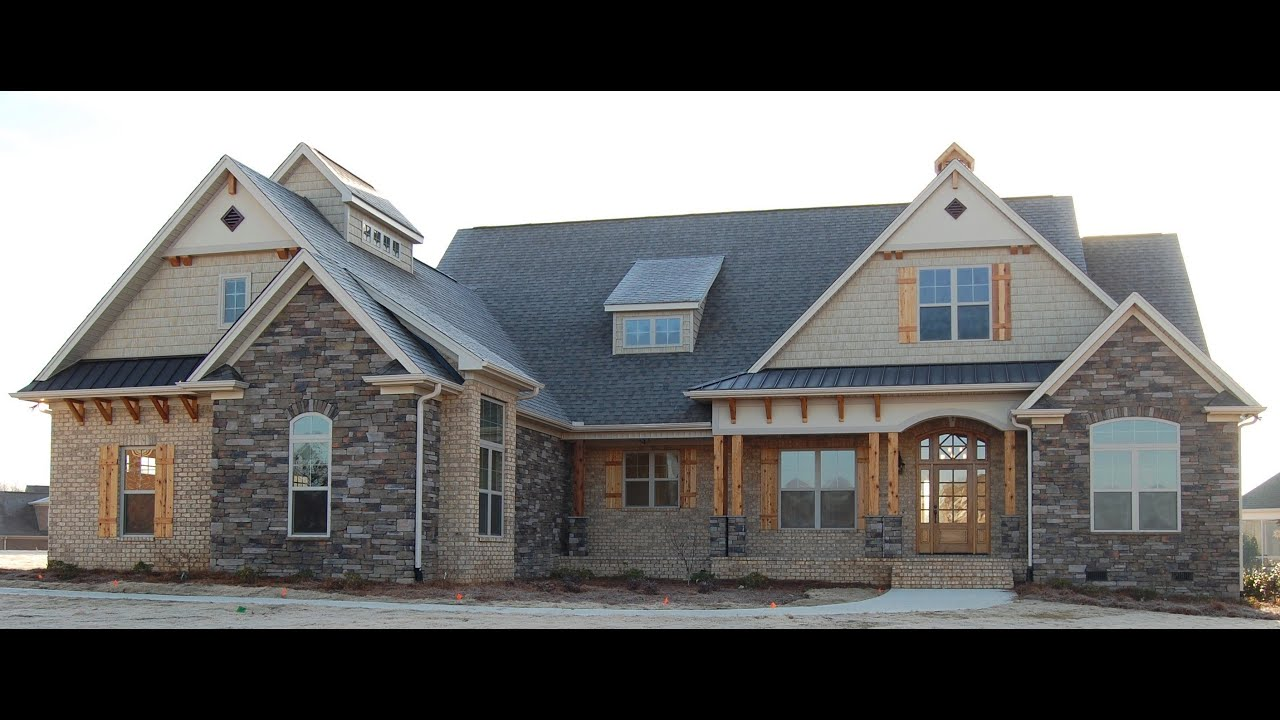 New 1 story floor plans youtube for Don gardner birchwood
