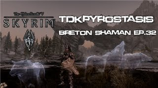 Skyrim Redone - Tearing up a crack house! Ep 32