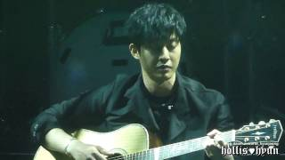 170429 Kim Hyun Joong 김현중 - Wind Song(behind the veil)@anemone fanmeeting
