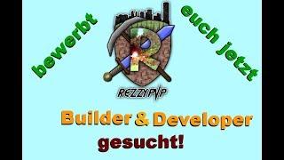 Builder & Developer gesucht! RezzyPvP