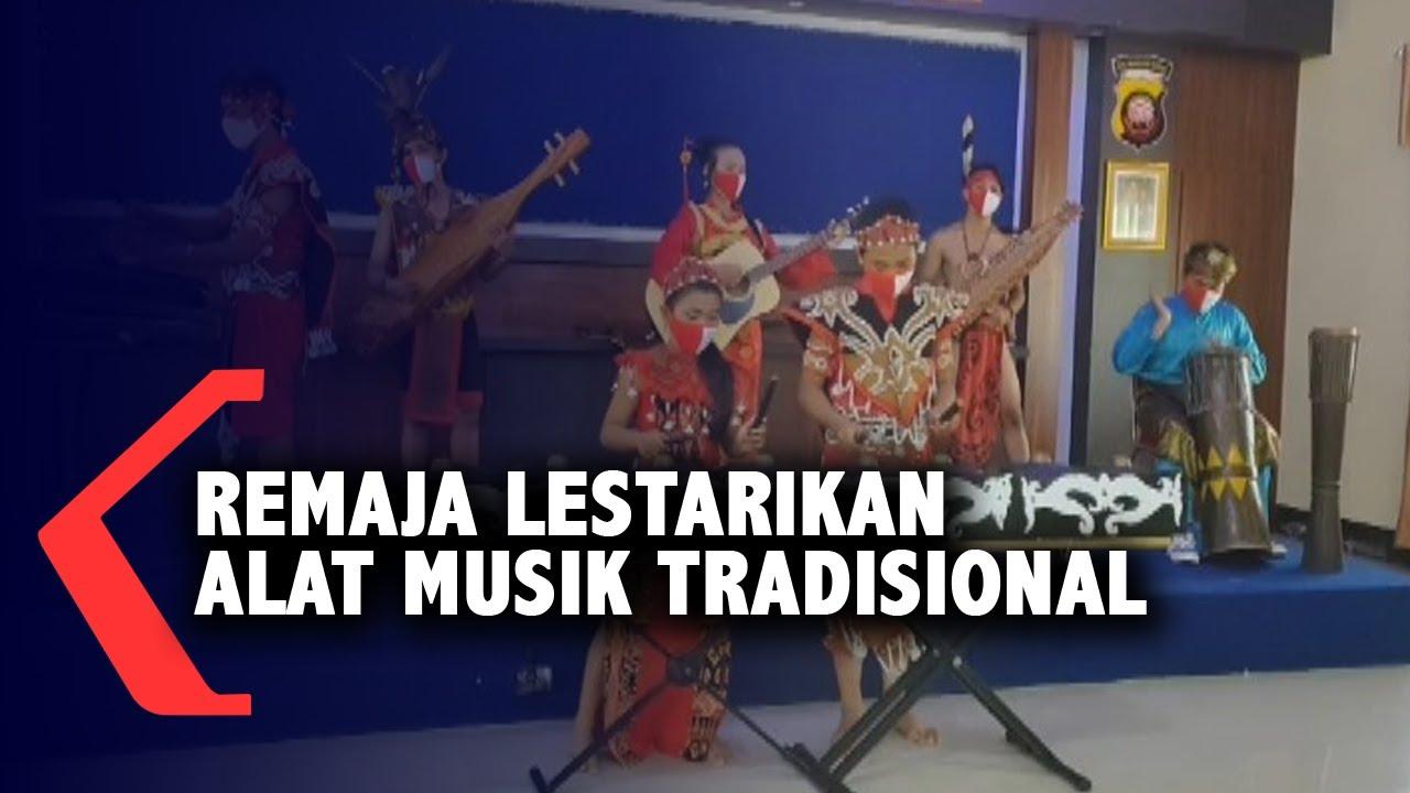 Remaja Singkawang Lestarikan Alat Musik Tradisional