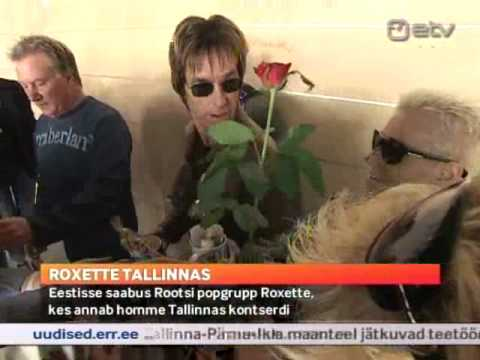 Roxette in Estonia (News report on ETV, 17 July, 2011)