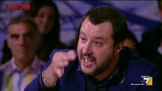 Salvini Barbaro Vs Caprarica Con La Sua Cravatta Non Va Lontano Frequenti I Luoghi Pubblici