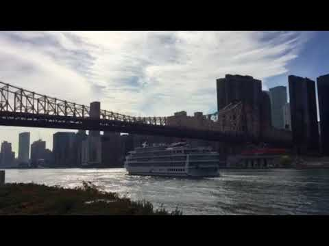 American Constellation Cruise Ship Spotted On NYC East River Passing Roosevelt Island