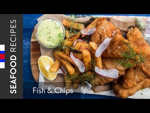 Beer Battered Haddock And Chips - Fish & Chips From Faroe Islands | Recipe