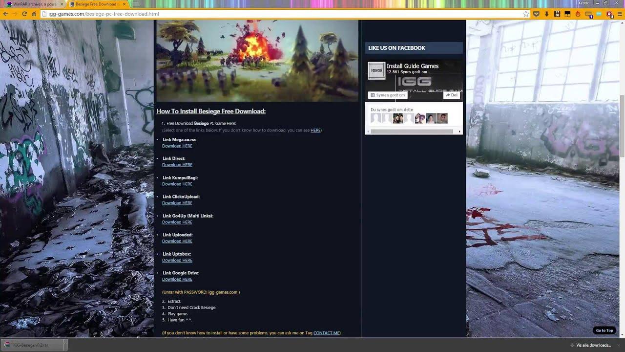 Besiege Crack Tutorial (igg-games com)