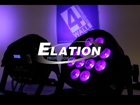 Demo: Elation SixPar 200IP