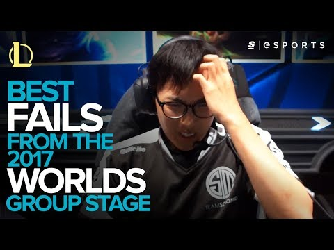 Best FAILS from the 2017 World Championship Group Stage