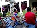 Kemabolo Youths Singing at Saroa Village: Sir Makena Geno's Haus Cry.