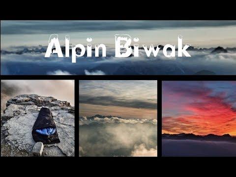 Alpin Biwak auf 2300 m | Lechtaler Alpen | Thaneller | Light Trekking
