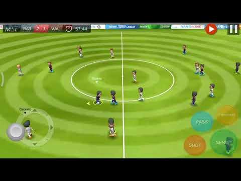 Barca 03 – 02 Valen City | Gameplay |Mobile Soccer League | Game bóng đá vui nhộn #1