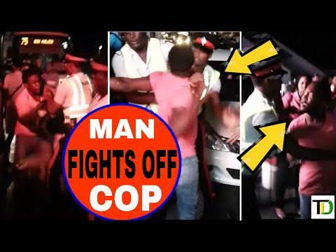 TAXI DRIVER 'fight' COPS while RESISTING Arrest  Teach Dem