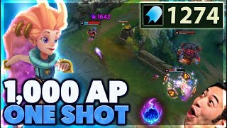 4 FLASHES ONE SECOND | LONGEST ONE SHOT SNIPE | 1,000 AP ZOE - BunnyFuFuu